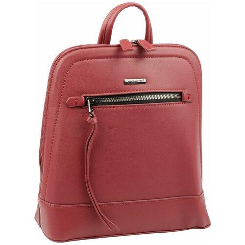 6111-2 BORDEAUX Сумка-рюкзак женская David Jones