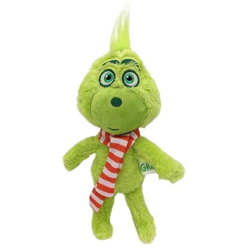 Мягкая игрушка Гринч в шарфе 25см