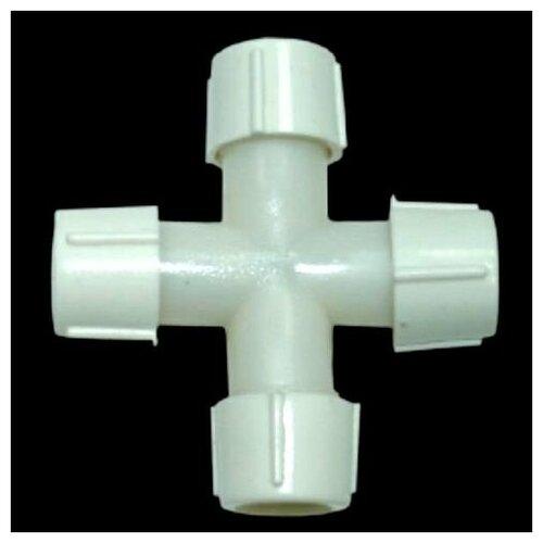 Коннектор крестовой для 3-х проводного светодиодного (LED) дюралайта 11 мм, Торг-Хаус SC-10-11