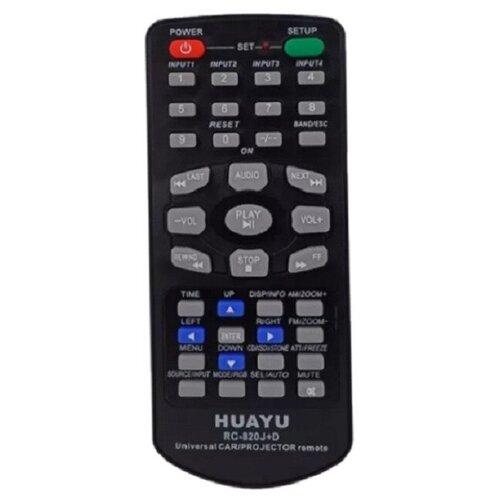 Фото - Универсальный пульт Huayu CAR RC-820J+D (для AUTO, TV, DVD, Projector) пульт rc 49c dvd для tcl