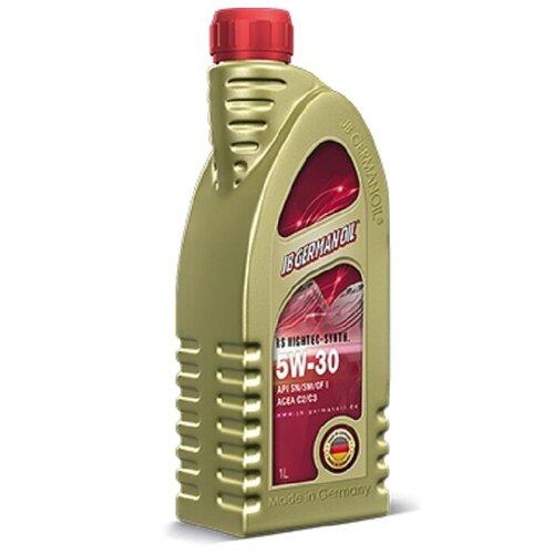 Фото - Моторное масло JB GERMAN OIL RS Hightec-Synth SAE 5W-30 1л моторное масло mitsubishi genuine oil 5w 30 1л синтетическое [mz320756]