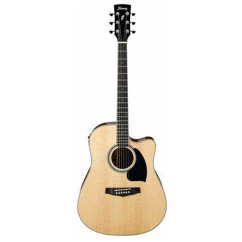 IBANEZ PF15ECE-NT электроакустическая гитара, цвет натуральный