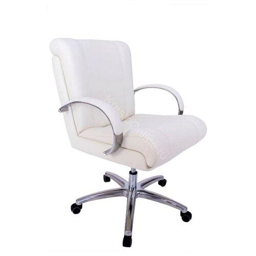 Кресло офисное Орхидея Хром низкая спинка