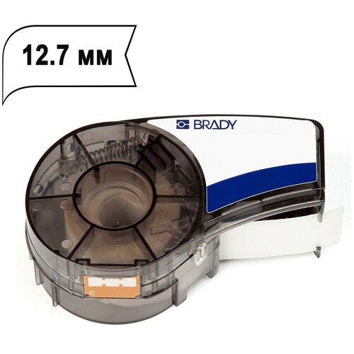Лента Brady M21-500-595-WT (M21-500-580-WT) (12.7 мм, черный на белом) {brd142807} недорого