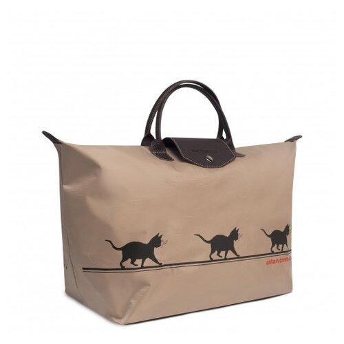 Дорожная сумка Antan, 175 Тихой сапой/бежевый