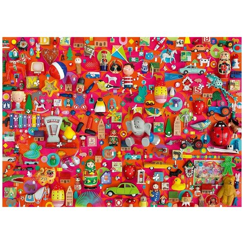 Пазл Schmidt 1000 деталей: Старинные игрушки