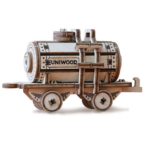 Деревянный миниатюрный конструктор UNIWOOD UNIT Цистерна
