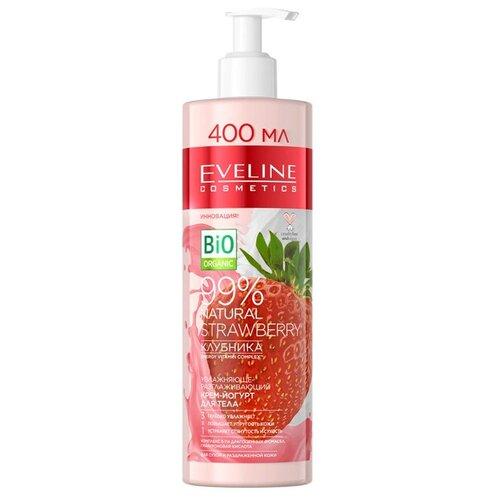 Крем-йогурт для тела Eveline Cosmetics Natural Клубника 400 мл