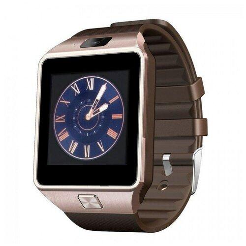 Смарт-часы Smart Watch DZ09 золотистые