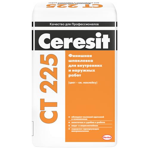 Шпатлевка Ceresit CT 225, серый, 25 кг