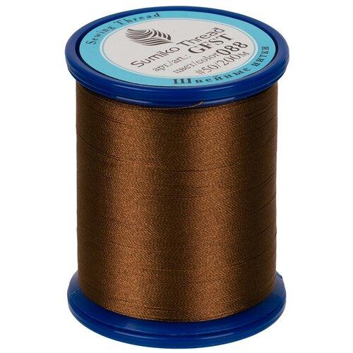 Sumiko Thread Швейная нить (GFST), 088 коричневый 200 м