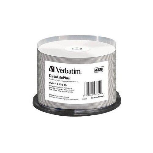 DVD-диск Verbatim 4.7 Гб, cake box, printable (50 шт)
