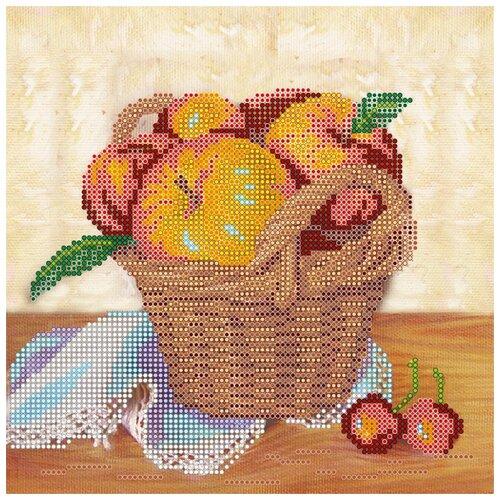 Купить Схема на холсте АБРИС АРТ АС-460 Летний урожай 20х20 см, ABRIS ART, Наборы для вышивания