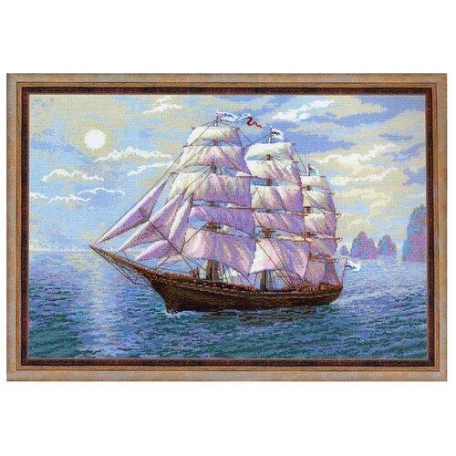 Фото - Риолис Набор для вышивания крестом Попутный ветер 60 x 40 (1356) риолис набор для вышивания крестом русская охота 60 x 40 1639