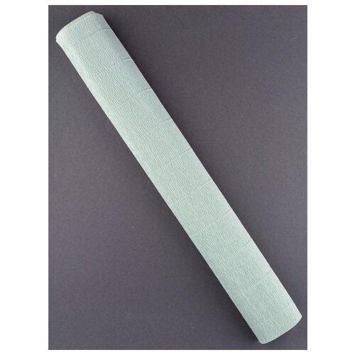 Купить Бумага гофрированная 50см х 2, 5м., 180г/м., Cartotecnica Rossi, 621 св.зелено-серый, Цветная бумага и картон