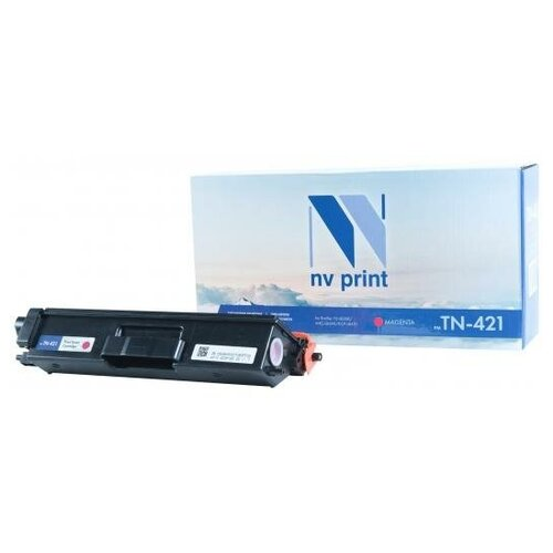 Фото - NV-Print Картридж NV-Print TN-421 M для Brother HL-L8260 MFC-L8690 DCP-L8410 1800стр Пурпурный картридж nv print tn 2085 для brother hl 2035 1500k