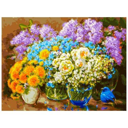 Картина по номерам ТМ Белоснежка 30х40 см Весенние цветы (439-AS) белоснежка картина по номерам листок 30х40 см 046 as