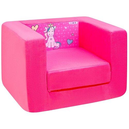 Кресло-кровать PAREMO детское PCR320 Дрими Крошка Мили размер: 52х45 см, обивка: ткань, цвет: розовый