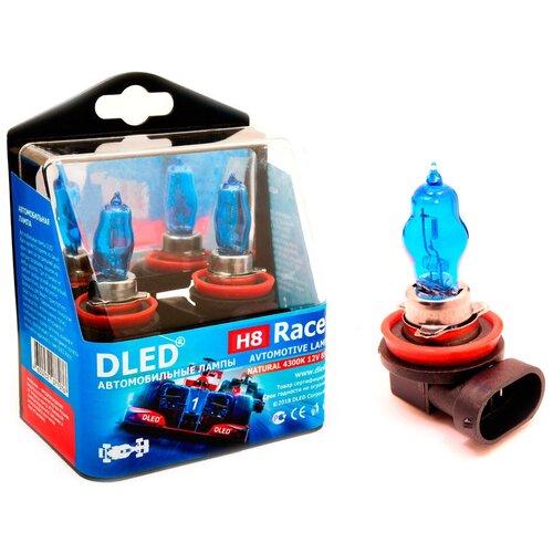 Автомобильная лампа H8 4300K DLED