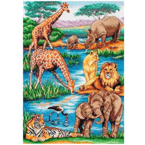 5678000-01212 Набор для вышивания MAIA 'Животные Африки' 29*42 см