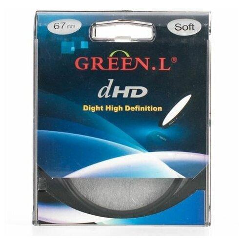Фото - Светофильтр Green-L (Soft) - 67mm светофильтр green l soft 40 5mm