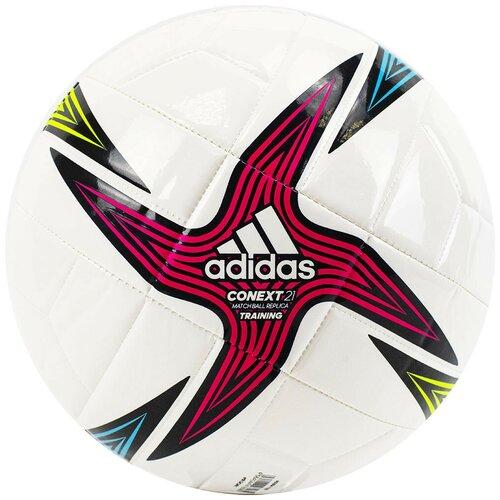 Мяч футбольный ADIDAS Conext 21 Training, р.5, арт.GK3491 футбольный мяч adidas conext 19 omb dn8633