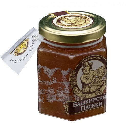 Мёд Башкирские Пасеки Цветочный, Сотка 250 г