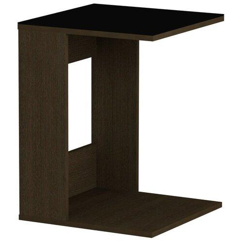 детские столы и стулья leset стол журнальный ls 747 корпус венге Стол журнальный LS 731 02.01 (корпус-венге,стекло-черный)