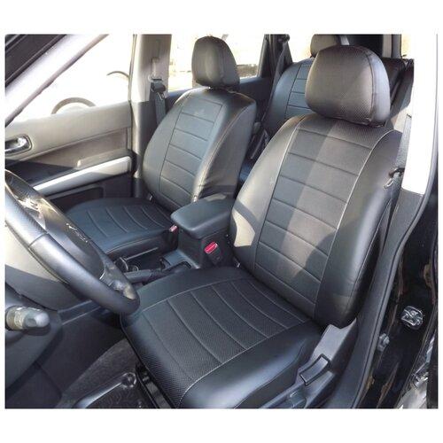 Чехлы для Chevrolet Lanos 2005-2009 (черный)
