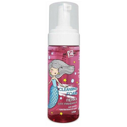 MoDAmo Пенка для умывания для сухой и чувствительной кожи, 170 мл