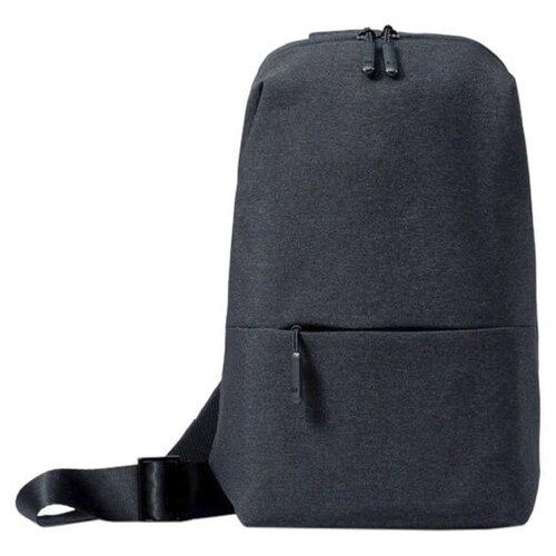 Фото - Рюкзак Xiaomi MI Chest Bag Dark Grey рюкзак bask mustag 25 grey dark grey
