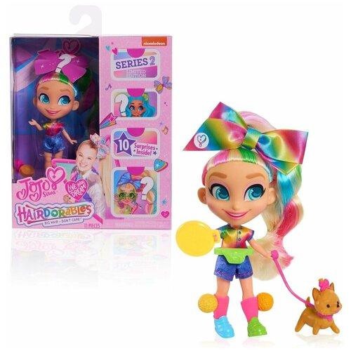 Кукла Hairdorables Loves JoJo Siwa, Ages 3 +