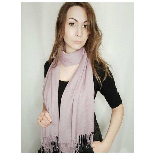 Палантин, Sergio Valentini, цвет: Светло-фиолетовый, 64 х 170 см