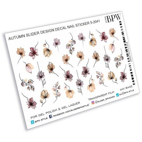 Купить BPW.Style, слайдер-дизайн (Новые осенние цветы sd5-2041), BPW style