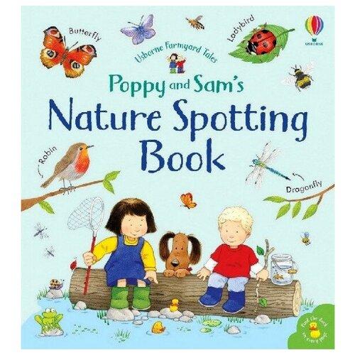 Купить Poppy and Sam's: Nature Spotting Book, Usborne, Детская художественная литература