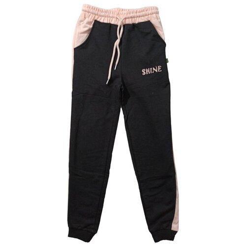 Спортивные брюки Папитто размер 146-152, черный брюки orby 100117 размер 146 152 черный