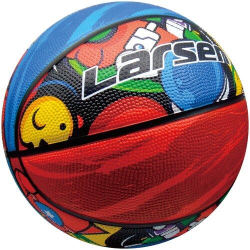 Мяч баскетбольный Larsen Graffiti р7 баскетбольный мяч larsen pu6 р 6