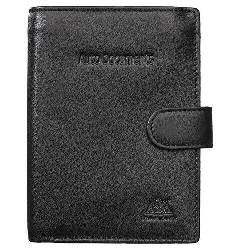Бумажник водителя A&M, 2153 черный