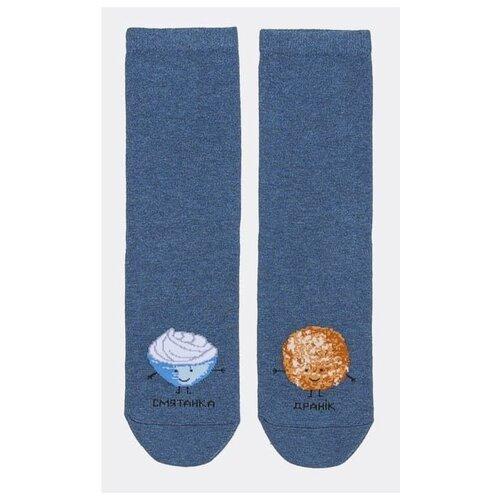 Носки MARK FORMELLE 211K-832, размер 25, св.джинсовый меланж