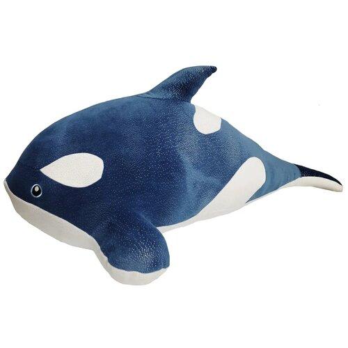 Мягкая игрушка касатка синяя 100 СМ