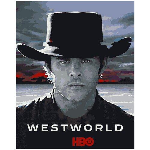 Картина по номерам Мир Дикого Запада - Тедди Флуд, 60 х 90 см