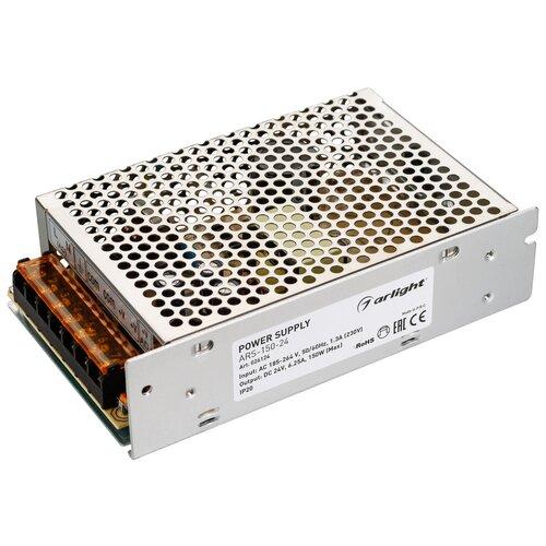 Фото - Блок питания ARS-150-24 (24V, 6.25A, 150W) (Arlight, IP20 Сетка, 2 года) блок питания ars 120 24 ls 24v 5a 120w