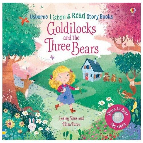 Купить Listen and Read Story Books: Goldilocks and Three Bears, Usborne, Детская художественная литература