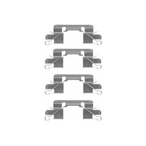 TEXTAR 82516200 82516200_ремк-т торм.колодок пер. Mitsubishi L200, Nissan Navara