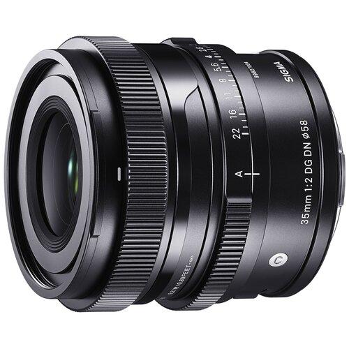 Фото - Объектив Sigma 35mm AF f/2 DG DN Contemporary Leica L черный объектив sigma 35mm f 1 4 dg dn art l mount черный