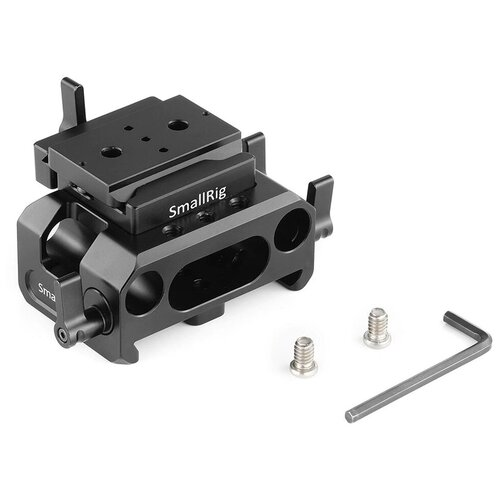 Фото - Площадка SmallRig DBC2261 для 2 направляющих 15 мм, для камер BMPCC 4K / 6K площадка smallrig 1798 с креплением для направляющих 15 мм