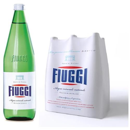 Вода минеральная Fiuggi (Фьюджи) без газа 6 шт по 1 л стекло