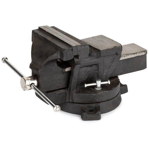 Тиски слесарные поворотные 125 мм VIRA