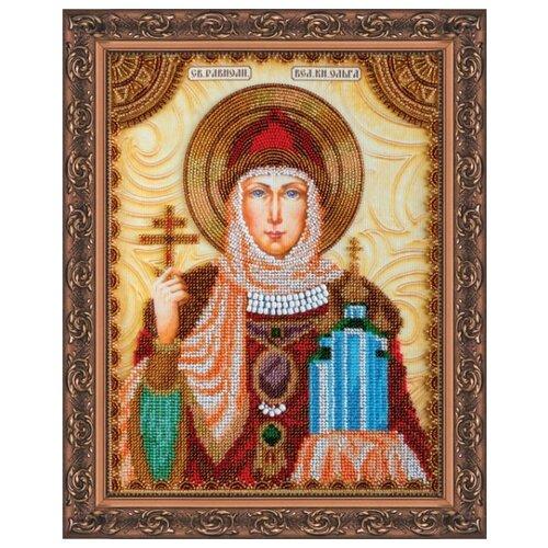 Купить Набор для вышивания бисером АБРИС АРТ AА-011 Св.Ольга 23x30 см, ABRIS ART, Наборы для вышивания