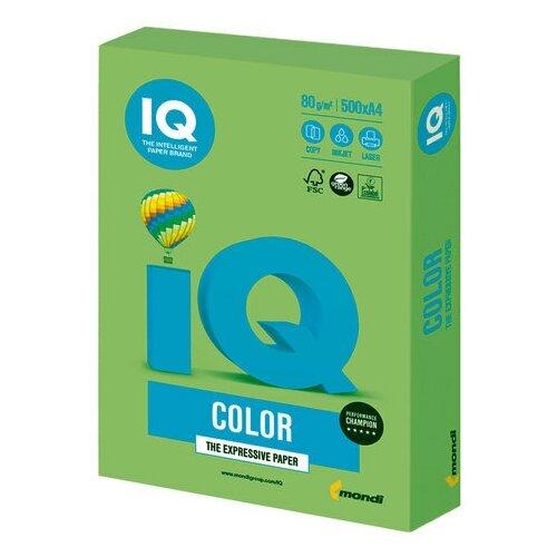 Фото - Бумага цветная IQ color, А4, 80 г/м2, 500 л., интенсив, зеленая липа, LG46, 1 шт. запарник для бани липа 12 л